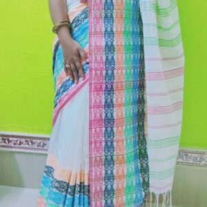 Begampuri Khadi Saree